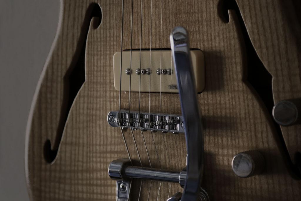 luthier construccion guitarras electricas
